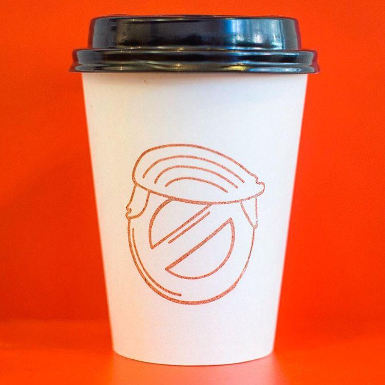12oz Custom Logo Paper Coffee Cup