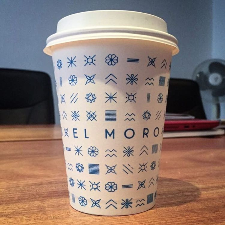 12oz Full Wrap Custom Cup El Moro