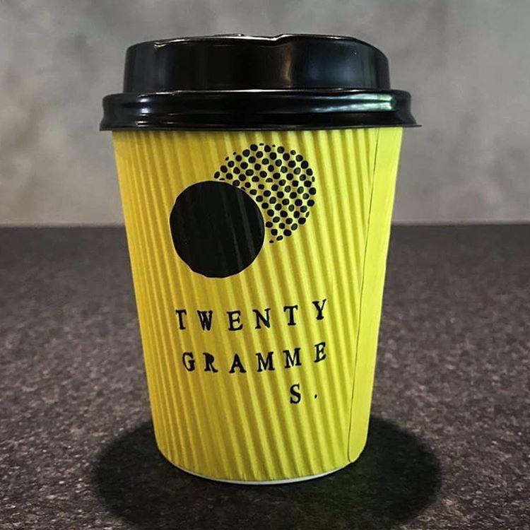 TwentyGrammes Branded Ripple Wall Cup