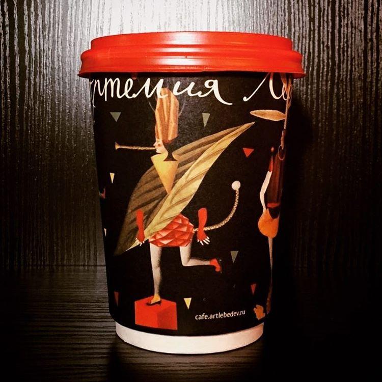 artlebedev coffee shop custom cups
