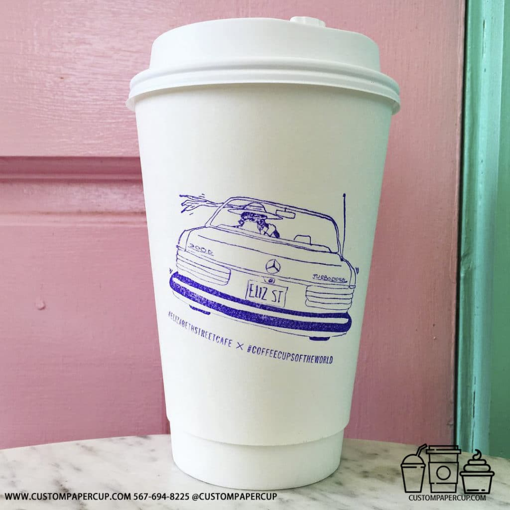 elizabethstreetcafe coffeecupsoftheworld tall big double wall cup