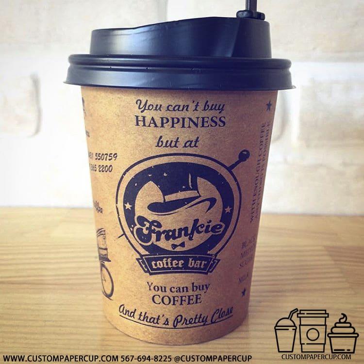 frankiecoffee bar quote coffee cup