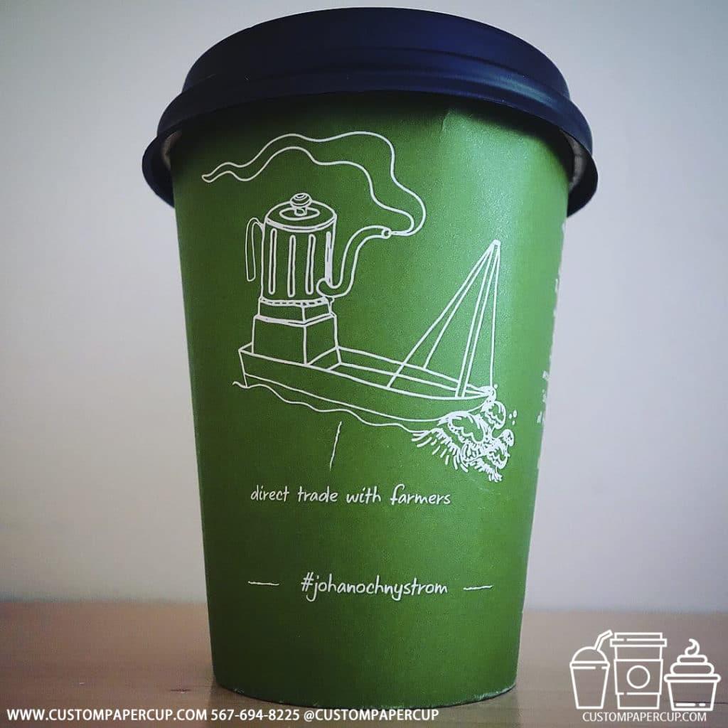 johanochnystrom boat eco green custom cup
