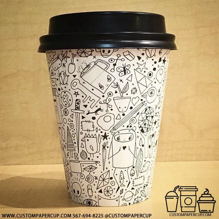 mashup comic random drink cup