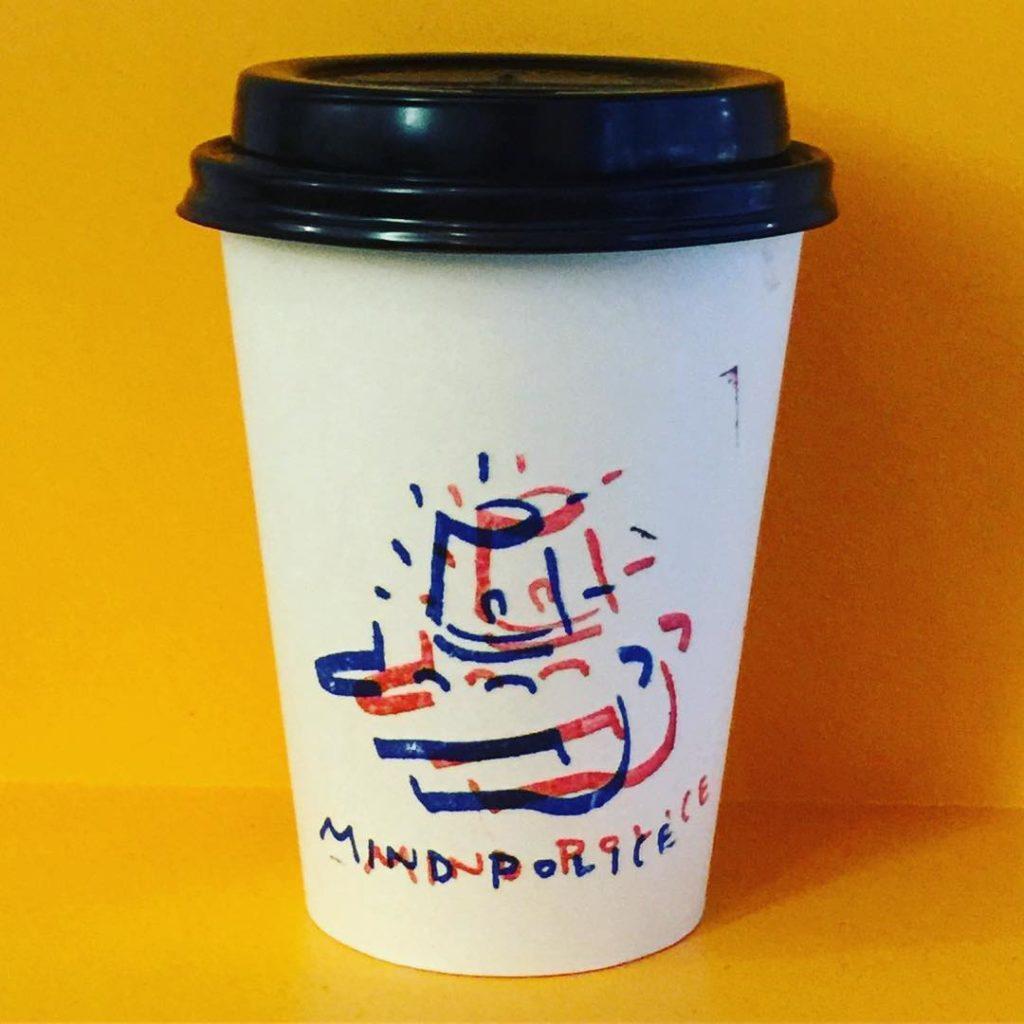 mindpolice custom print paper cup