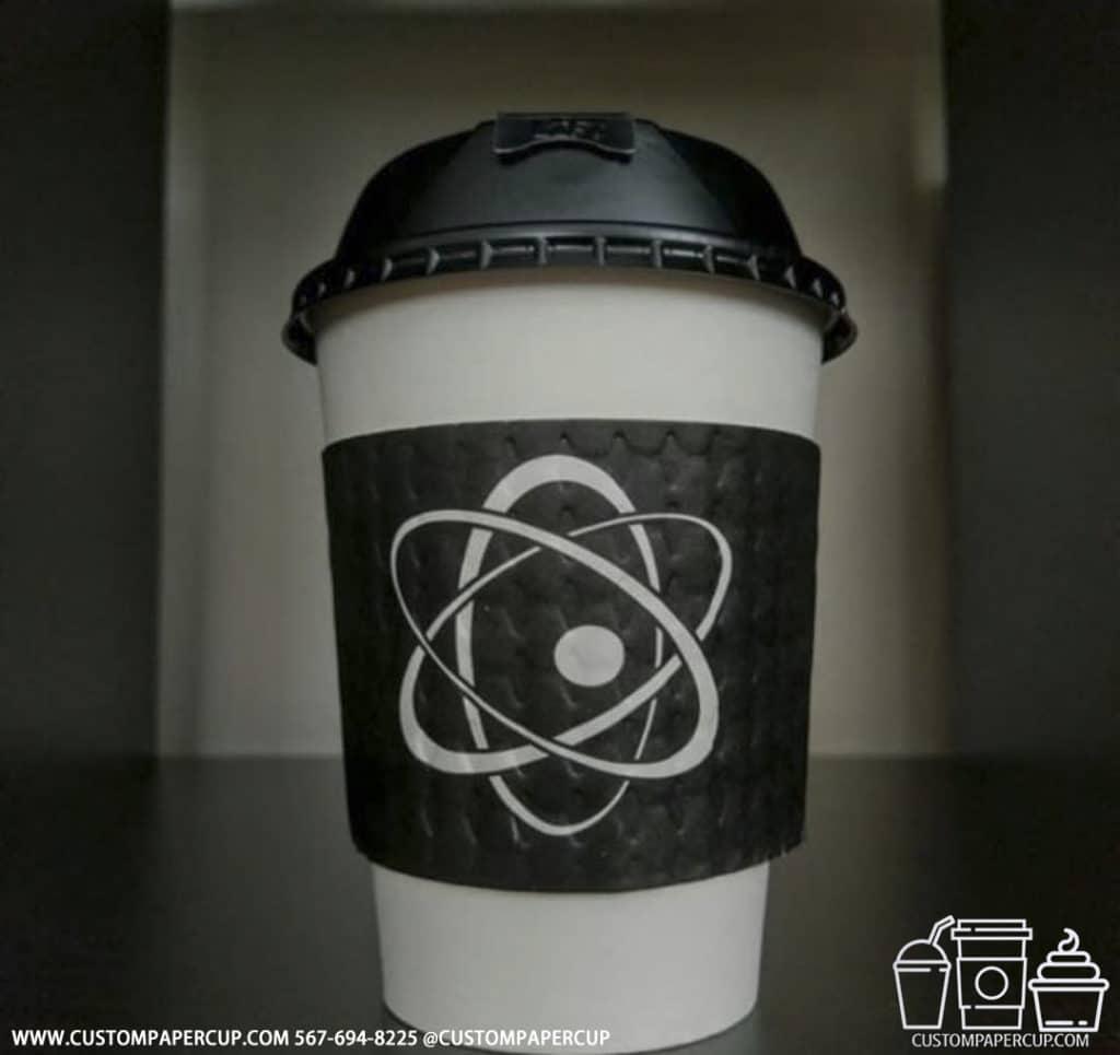 nuclear atom sleeve hot cup