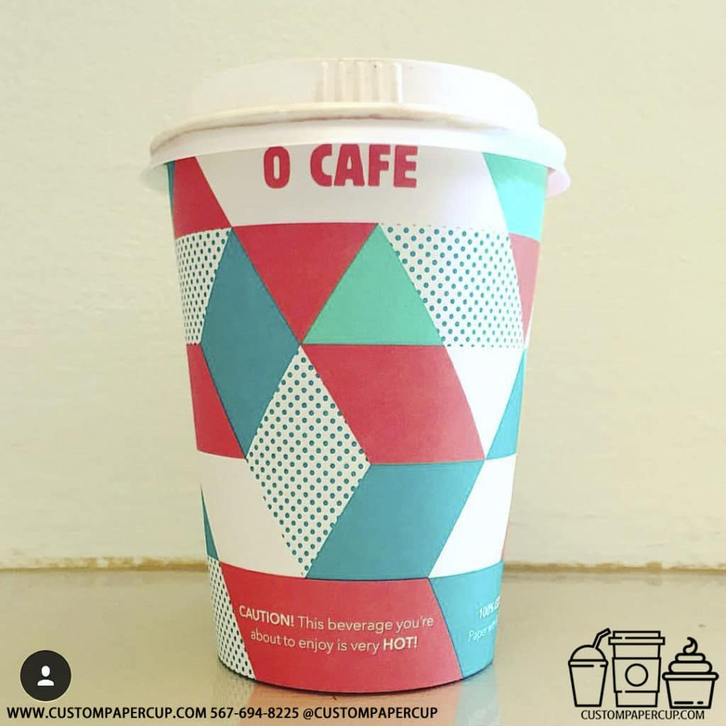 ocafe mosaic cube hot cup