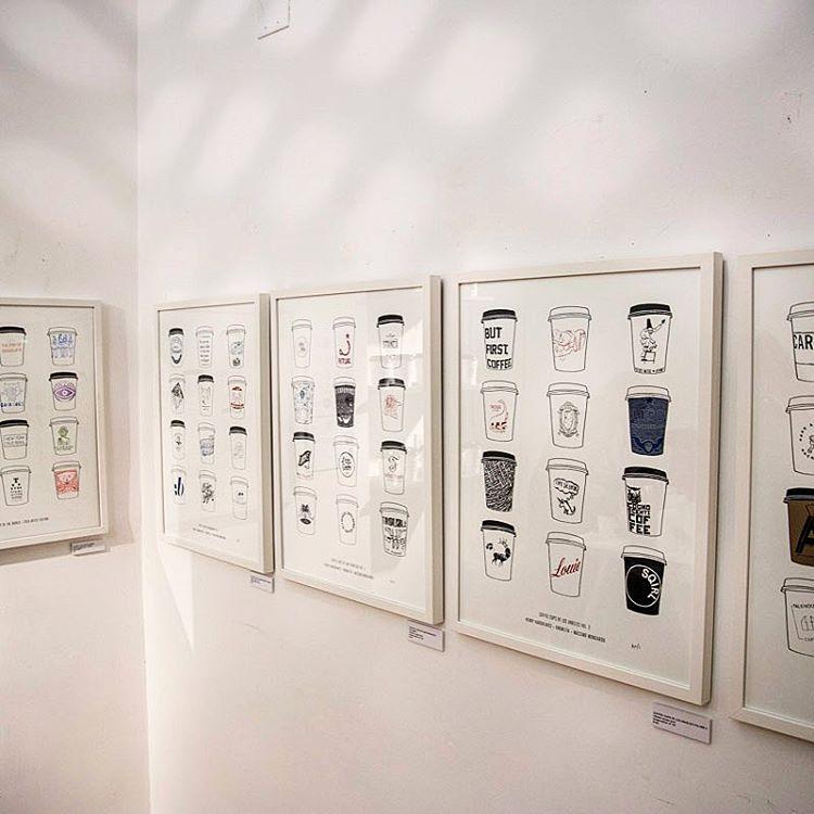 paper cup art custom designs