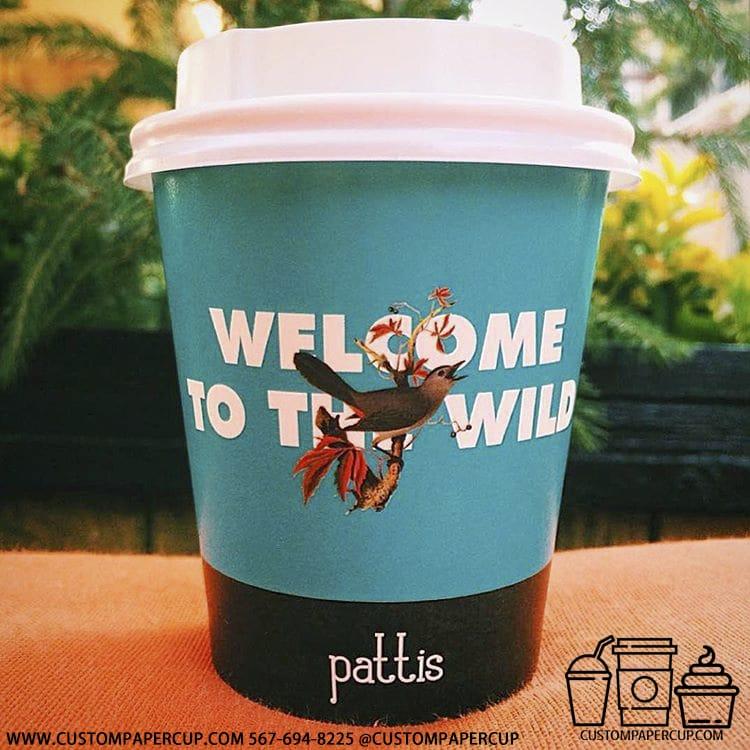 pattis bird welcome wild full wrap cup