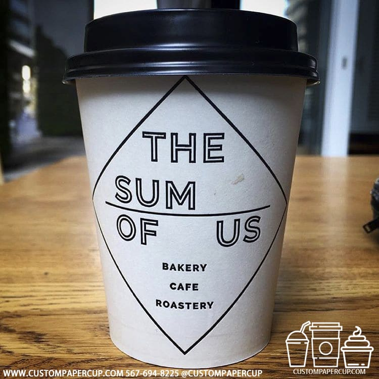 thesumofus custom paper cup