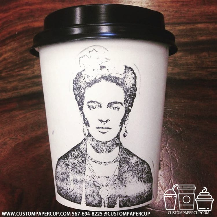 women portrait old fashion coffee cup