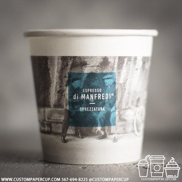 espressodimanfredi photo custom printed paper coffee cups