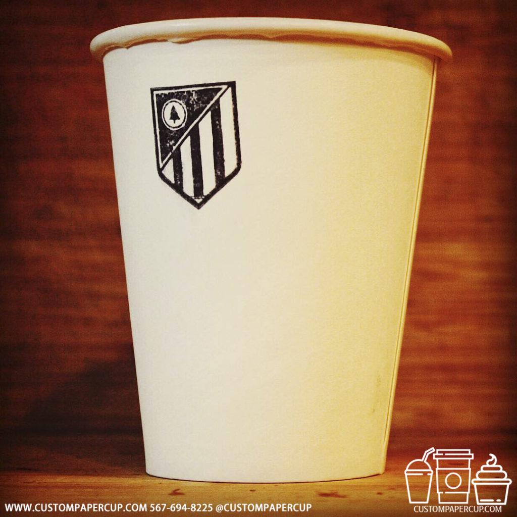 state team logo custom printed coffee cup