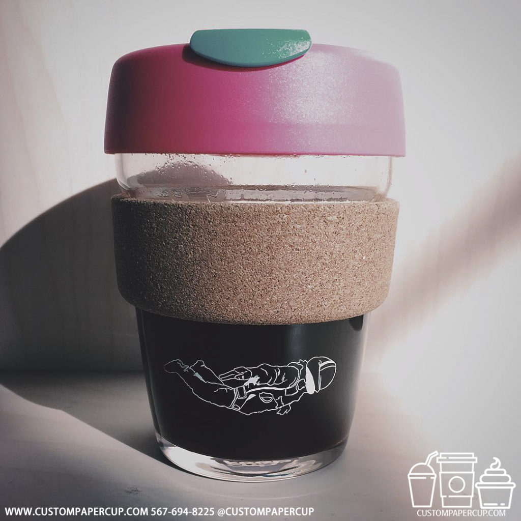 strange special lid custom printed paper coffee cups